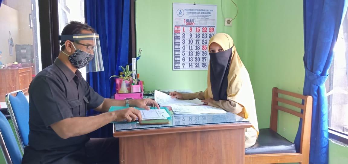 wawancara potensi desa bersama BPS kota madiun